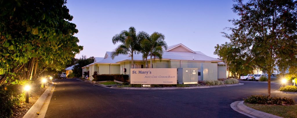 St Marys Aged Care Coolum entry