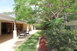 Expansive patios