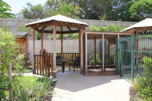 Gazebo and Aviary