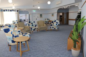 Lounge in comfort Coolum aged care